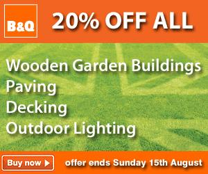 B&Q: Weekend offers