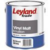 Leyland Vinyl Matt Brilliant White 2.5Ltr at Screwfix
