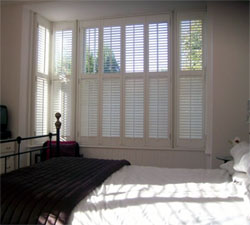 B&Q California Shutters: Perfect for maximum privacy and light
